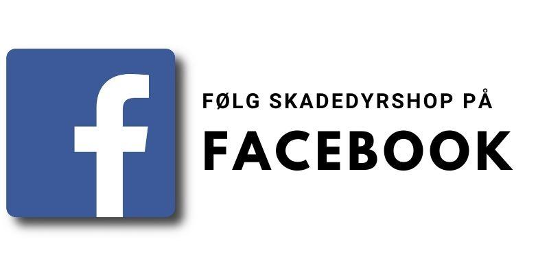 Følg SkadedyrShop.dk på Facebook