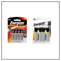 Batterier og Adaptor