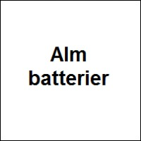 Alm batterier