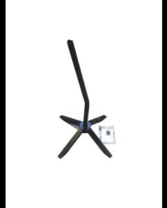 Drejefod® med lejer for montering af teleskop stang