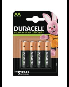 DURACELL AA / HR6 / R06 / R2U Genopladelige batterier (4 stk.)