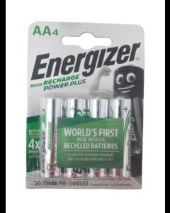 Energizer Recharge Power Plus AA / NH15 2000mAh Batterier (4 stk.)