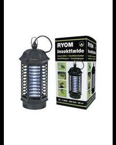Insektfælde Ryom plast 1X 4W 40 M2