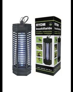 Insektfælde Ryom plast 1X11W 90 M2 (PÅ LAGER FORÅR 2022)