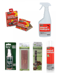 Pakkeløsning mod Klædemøl (Cedertræ Aroma)
