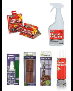 Pakkeløsning mod Klædemøl (Lavendel Aroma)