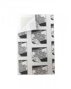 Klisterpapir uden lokkemiddel til insektbox (15,7 x 9,3 cm)