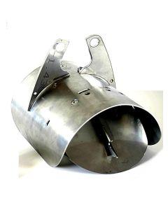 Rottespærrer diameter mm. Ø100 / Ø110 Til pvc,beton. Passet til indvendig i rør mm. Ø99 - Ø103