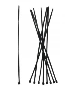 Kabelbinder sort 7,6 X 500 mm 1 stk.