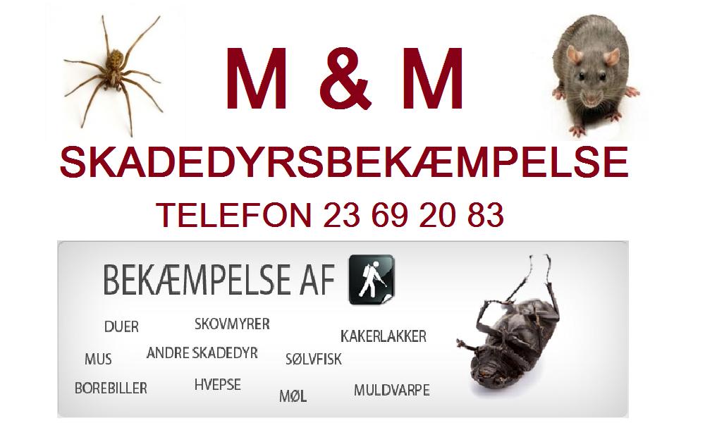 M & M Skadedyrsservice