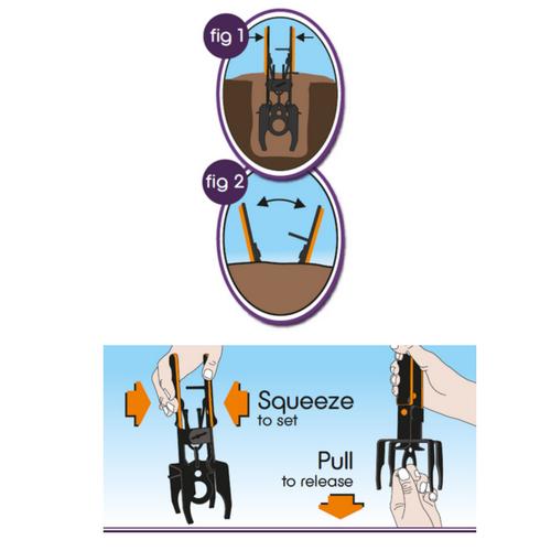 Vejledning til brug af muldvarpefælde