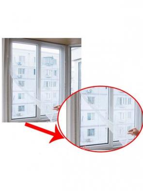 Insektnet til vinduer (sort)